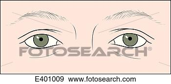 constricted pupils