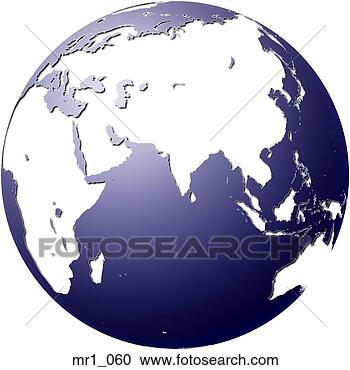 地图, 瓷器, 印度尼西亚