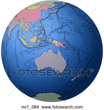 世界地图印度尼西亚_