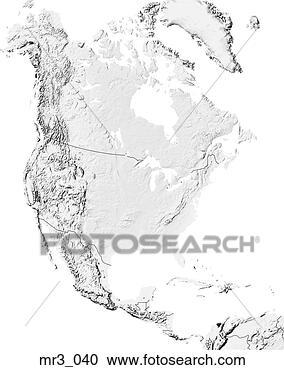 地图, 北美洲