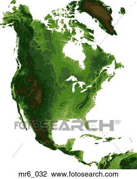 United States Map North