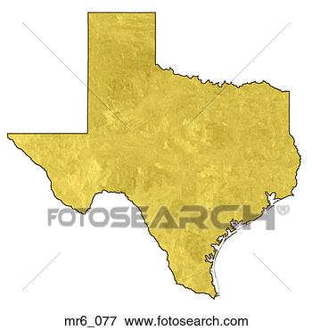 United States Map Texas