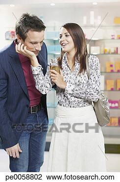 Stock Photo - couple in a store 