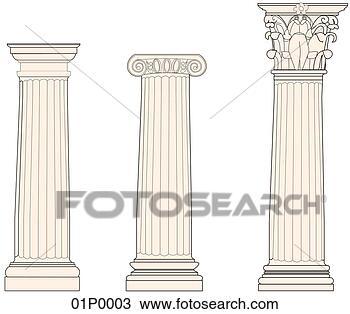 greek columns duplicate