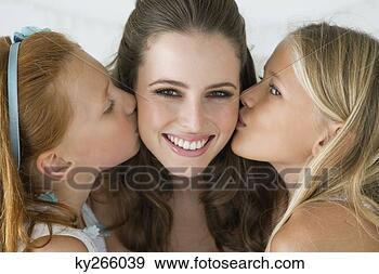 创意摄影图片库 两个女孩