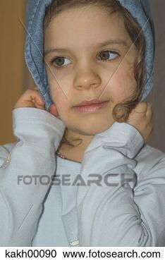 感情, 女孩, 孩子,甜, 黄金,小,脸. 搜寻创意英文字母绘图,图