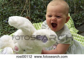 孩子, 很少, 头发,小, 婴儿,脸. 搜索创意英文字母绘图,图像绘