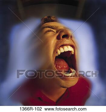Stock Photo - people, individuality,  angry, screaming.  fotosearch - search  stock photos,  pictures, wall  murals, images,  and photo clipart