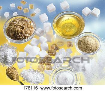 sweeteners candy sugar icing sugar sugar honey 176116 stock food