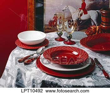 陶瓷餐具创意海报