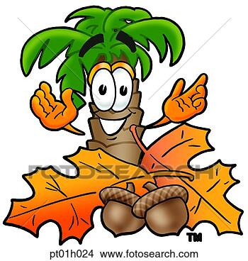 Clipart palmier dans automne pt01h024 recherchez des clip arts des illustrations des - Palmier clipart ...