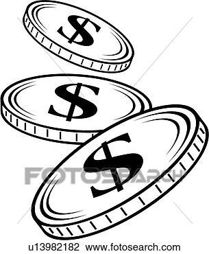 剪贴画 - 硬币