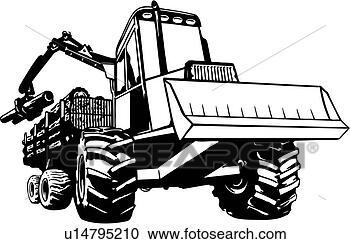 Logging Equipment Clip Art