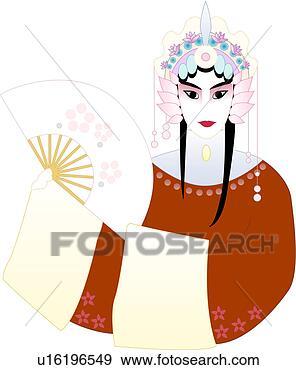 Chinese Fan Clip Art