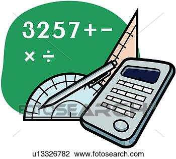 Clipart - protractor, math,  figure, number,  calculation, mathematics.  fotosearch - search  clipart, illustration  posters, drawings  and vector eps  graphics images