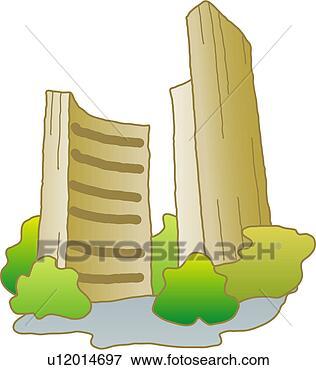 剪贴画 - 建筑物, 建筑学