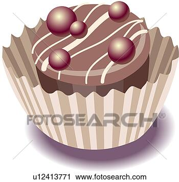 Sweet wrapper bonbon confection candy view large clip art graphic