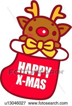 v鼻子画-rudolph,圣诞节,红,有鼻子,表情高兴拿着风驯鹿包车图片