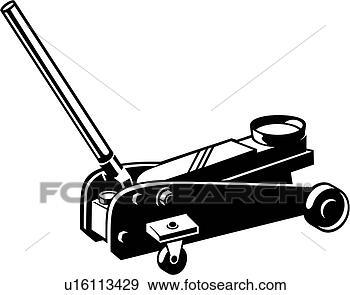 Clip Art of , auto lif...