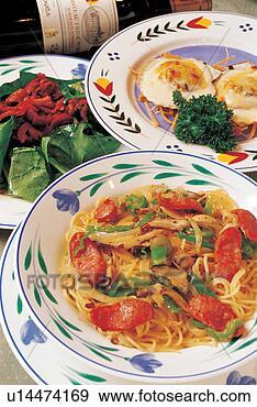 Arquivo Fotográficos - cozinha, platter,  close-up, alimento,  refeição. fotosearch  - busca de fotos,  imagens e clipart