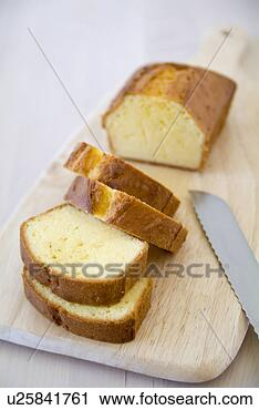 Pound Cake Clip Art : Stock Photography of Slices of pound cake u25841761 ...