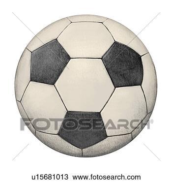 手绘图 - 对象, 足球, 球, 计算机图表图片