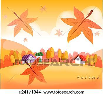 绘画/画画 - 天的秋天