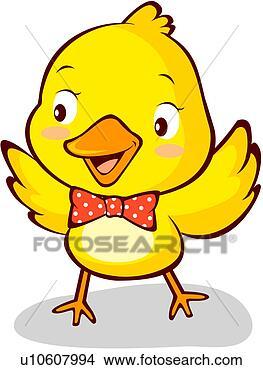 手绘图 - 鸟, 小鸡, 鸟