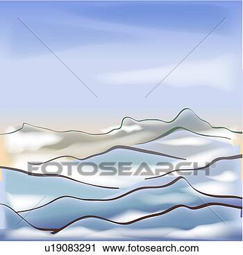 剪贴画 - 云, 季节, 天空