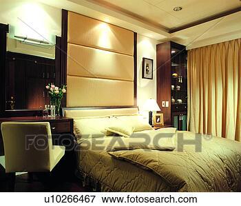 Beeld ruimte tafel bed meubel slaapkamer kleermaker binnenste kunst u10266467 zoek - Beeld decoratie slaapkamer ...