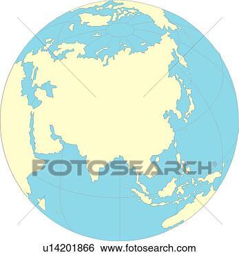 世界各个国家的地图