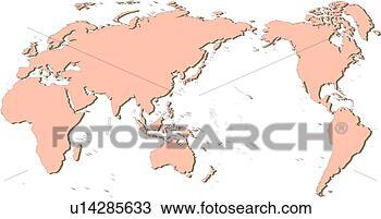 World Map Of Seas
