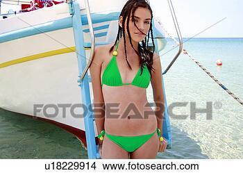 young bikini