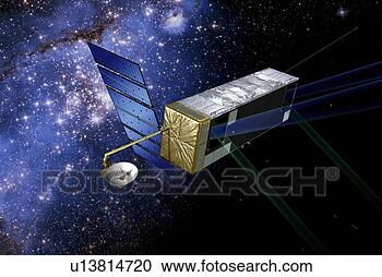 Stock Illustration - sim planetquest,  scheduled for  launch within  the next decade.  fotosearch - search  clipart, illustration,  drawings and vector  eps graphics images