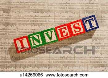 Stock Photo - investing in the  stock market.  fotosearch - search  stock photos,  pictures, images,  and photo clipart