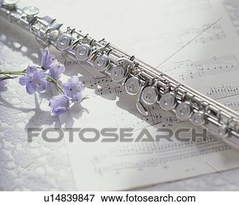 score-flute-flower_~u14839847.jpg