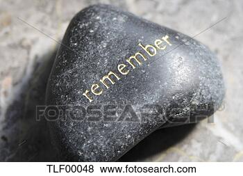 Stock Photo - rememberance-stone.  fotosearch - search  stock photos,  pictures, images,  and photo clipart