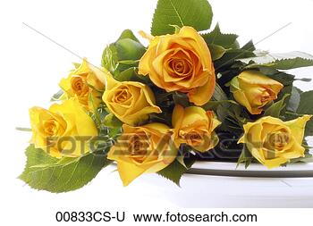 Stock Photo - bouquet of yellow 