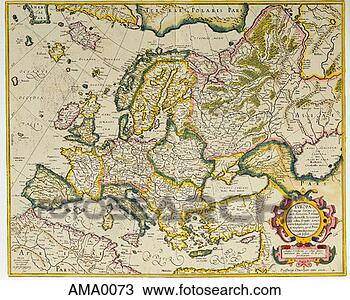 Map Of Europe In 1600