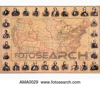 Us Map Railroad