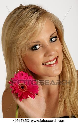 Stock Photo - lady flower. fotosearch  - search stock  photos, pictures,  wall murals, images,  and photo clipart