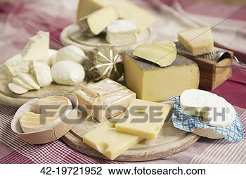 Stock Photo - variety of cheeses.  fotosearch - search  stock photos,  pictures, wall  murals, images,  and photo clipart
