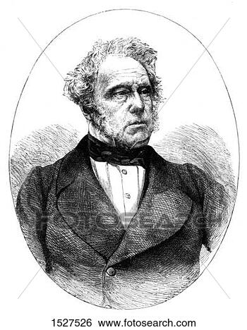 Stock Photo - lord palmerston,  19th century artist:  unknown. fotosearch  - search stock  photos, pictures,  wall murals, images,  and photo clipart
