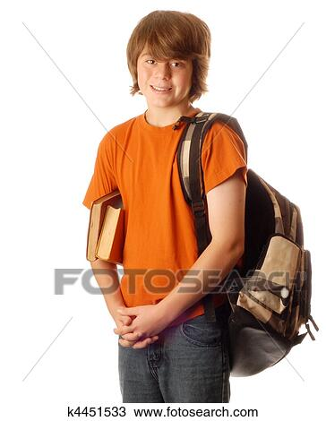 男孩, 背包