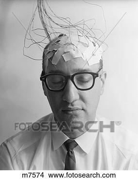 stock photo   1960s portrait