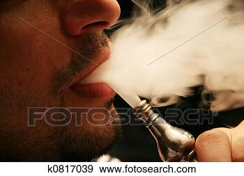 Stock Photograph - smoking hookah.  fotosearch - search  stock photos,  pictures, images,  and photo clipart