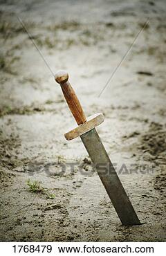 Stock Photograph - a sword. fotosearch  - search stock  photos, pictures,  images, and photo  clipart