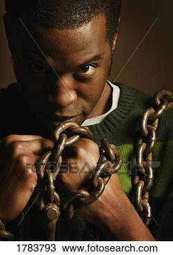 Stock Photo - man in bondage.  fotosearch - search  stock photos,  pictures, images,  and photo clipart