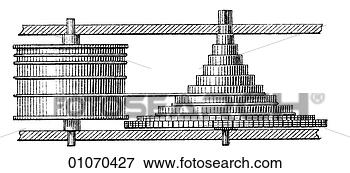 Stock Illustration of Science & Medicine - line art Physics ...