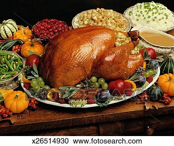 Stock Photography - thanksgiving turkey.  fotosearch - search  stock photos,  pictures, wall  murals, images,  and photo clipart